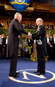 Edward Phelps at the Nobel Ceremony