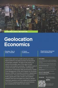 Geolocation Economics